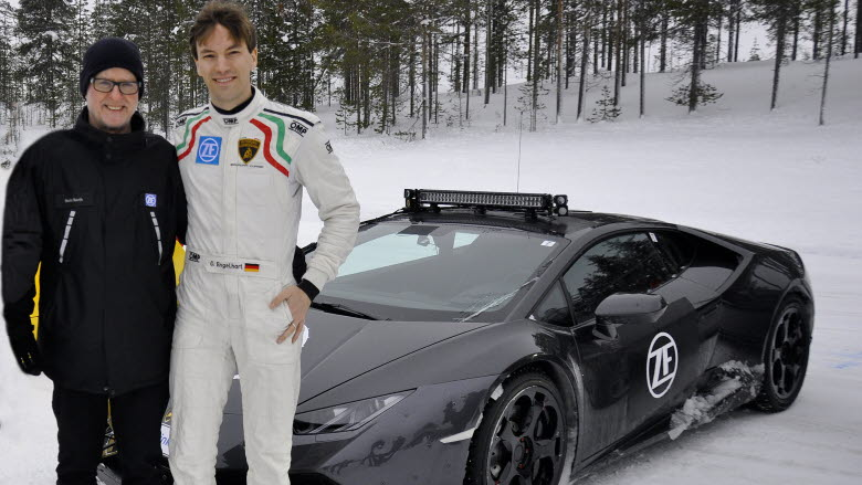 Famous GT rally driver in Arvidsjaur